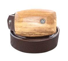 Gürtel Oliven-Holzschnalle | Leder schmal Belt, Bracelets, Design, Leather, Jewelry, Accessories, Reading Glasses, Wood Grain, Pens