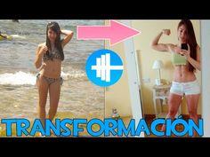 Antes y después chica gym - YouTube