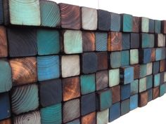 Wood Wall Art - Reclaimed Wood Wall Sculpture