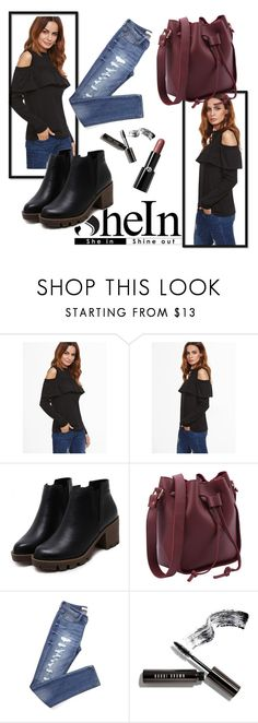 """""""Shein 2/10"""" by zina1002 ❤ liked on Polyvore featuring Bobbi Brown Cosmetics and Giorgio Armani"""