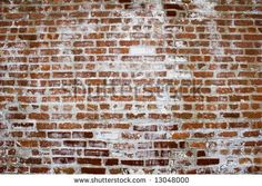 Picture of Another Brick in the Wall Background image of bricks and white wash stock photo, images and stock photography. Brick Wall Background, Background Images, Faux Stone Sheets, Loft Storage, White Wash Brick, Brick Paneling, Brick In The Wall, Elements Of Design, Brickwork