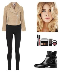 """""""Today."""" by roci28 ❤ liked on Polyvore featuring LORAC, Acne Studios and Topshop"""