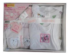 swakidsstore,Bambini 5 Piece Gift Box - Pink