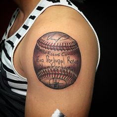 45 Sporty Baseball Tattoo Designs – For The Love Of The Game Baseball Costumes, Baseball Game Outfits, Baseball Girls, Cubs Baseball, Baseball Snacks, Baseball Crafts, Baseball Tattoos, Baseball Quotes, Name Tattoos