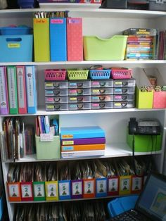 Teacher Planning: I WANT to be this organized!!!