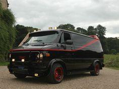 A-Team- BA Baracus's Van- 1983 GMC G-15