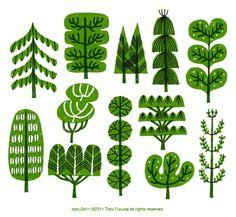 Toru Fukuda tree green