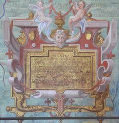Картуш из Галереи карт, Ватикан