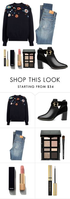 """""""Rock the Vote"""" by maddystieva ❤ liked on Polyvore featuring Victoria, Victoria Beckham, Ted Baker, Citizens of Humanity, Bobbi Brown Cosmetics, Chanel, YSL, victoriabeckham, gucci and rockthevote"""