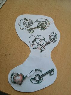 Tattoo keys