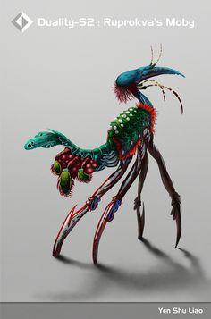 Hand Creature Ruprokva S Moby by J.Yen Shu Liao