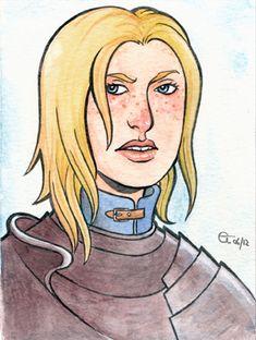 Brienne of Tarth by Sigune.deviantart.com Jaime And Brienne, Brienne Of Tarth, Game Of Thrones Tv, The North Remembers, Fire Book, Aurora Sleeping Beauty, Deviantart, Songs, Artist