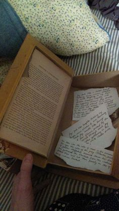 Mystery Book with snippets of my poetry by CaraRueggPhotography