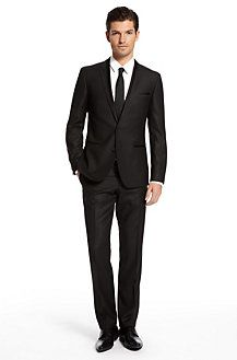 Time for a suit upgrade...  Can't go wrong with a Hugo Boss.