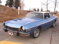 #blue 1974 AMC Matador (maybe not AMC's most-attractive design)