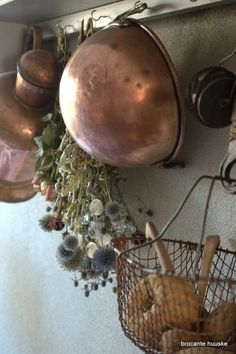 copper mixing bowl Kom Achterom