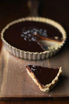 Gluten-Free Salted Chocolate Peanut Butter Tart