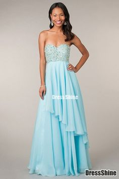 Evening dress Evening dresses Stil, Trägerlose Ballkleider, Ballkleider  2016, Brautkleider, Formelle Kleider b8c5d45002