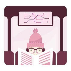 Introvert (Blog illustration) ©Justyna Krug My Favorite Food, My Favorite Things, Introvert, Digital Illustration, About Me Blog, Illustrations, Illustration, Illustrators, Digital Paintings