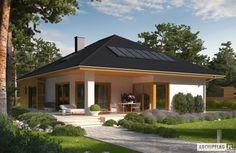 Projekt domu Liv 3 - Projekty domów ARCHIPELAG - Liv 3 - wizualizacja ogrodowa