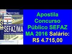 Apostila Concurso Público (SEFAZ-MA) TÉC. REC. EST. ARRECADAÇÃO E FISC. ...