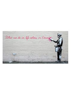 What We Do In Life (Canvas) by iCanvasART at Gilt