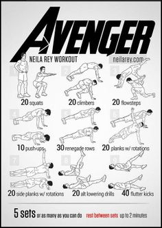 Avenger Workout