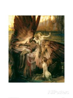Lament for Icarus Giclee Print by Herbert James Draper at AllPosters.com