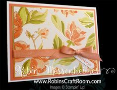 RobinsCraftRoom.com - Robin Messenheimer, Independent Stampin' Up! Demonstrator