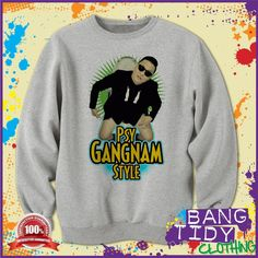 Gangnam Style PSY Toilet Fun Music Mens Sweatshirt  Our Price: £19.97