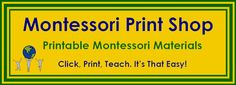 This site has Montessori printables - some free - but also includes basic information about the Montessori Method and study ideas.