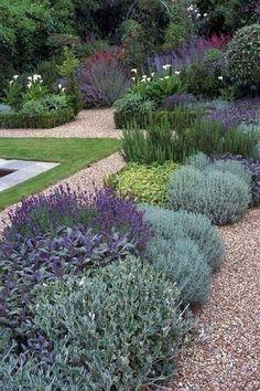 Landscape Gardening Doncaster Landscaping With Rocks, Backyard Landscaping, California Front Yard Landscaping Ideas, Backyard Ideas, Large Backyard, Modern Landscaping, Design Jardin, Garden Cottage, Garden Sofa