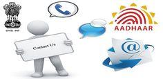 AADHAAR Card Enquiry Contact Information  #aadhaarcontactdetails #aadhaarenquiry #uidaicontactdetails