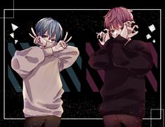 Dark Art Illustrations, Illustration Art, Cute Anime Boy, Anime Guys, Anime Music, Anime Art, Vocaloid, Nagisa Shiota, Boy Drawing