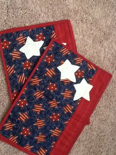 4th of July placemats.