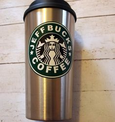 17 Personalized Starbucks Inspired Stainless Steel Travel Mug Hot Coffee, Coffee Cups, Tea Cups, Stainless Steel Travel Mug, Starbucks, Canning, Mugs, Loft, Inspiration