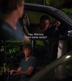 Uncle Andy creepin' on Silas. LOL #weeds