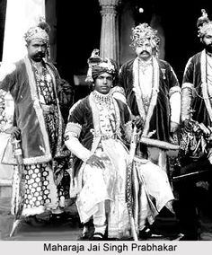 Maharaja Jai Singh of Alwar. The Maharajah was a bit of a terror where young British Army officers were concerned.