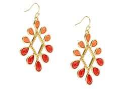 Totally dig these....Dazzling Teardrop Earrings by Roberta Chiarella