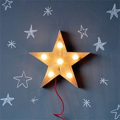 MINI LENA STAR LAMP from Not On The High Street