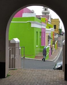 Bo Kaap..Cape Town..South Africa