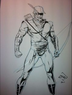 Green Arrow by Ethan Van Sciver *