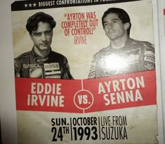 Ayrton Senna: Eddie Irvine e o Soco de Ayrton Senna