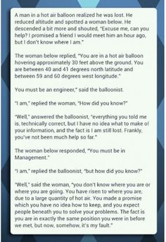 This Is The Perfect Analogy For Engineers And Managers