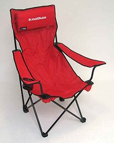 Personalized Classic Bubba Hi-Back Quad Chair (Red) ** Read more reviews of the product by visiting the affiliate link Amazon.com on the image.