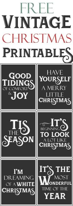 Free Vintage Farmhouse Christmas Printables.jpg