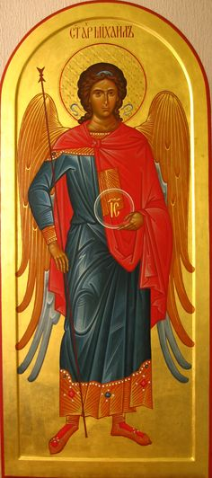 Архангел Михаил Religious Pictures, Religious Icons, Religious Art, Archangel Raphael, Raphael Angel, Archangel Gabriel, Church Icon, Angel Images, Angel Warrior