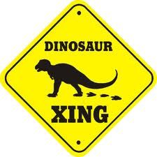 Dino crossing. totally having this stuff on the walls.
