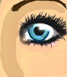#Eye #Colorized #Sketch by Janie H.  http://www.colorized.by/i/URwLMMCPswDGAABT/