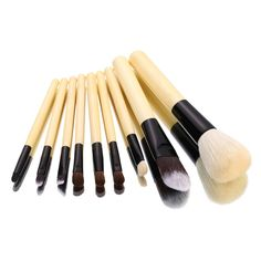 $9.43 (Buy here: https://alitems.com/g/1e8d114494ebda23ff8b16525dc3e8/?i=5&ulp=https%3A%2F%2Fwww.aliexpress.com%2Fitem%2FHigh-Quality-9Pcs-Pro-Soften-Makeup-Brushes-For-Beauty-Make-Up-Brush-Kit-Storage-Bag-Travel%2F32442580950.html ) 9pcs Pro Makeup Brushes Set Soft  Makeup Brushes Wood Handle For Beauty Make Up Brush Kit Storage Bag pinceis de maquiage for just $9.43